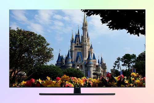 Samsung UE55TU7570U 4K TV из бюджетной серии TU75