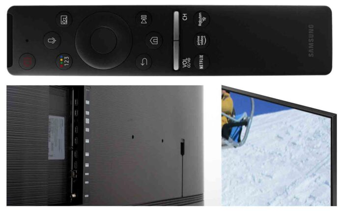 Samsung Q77TAU интерфейсы