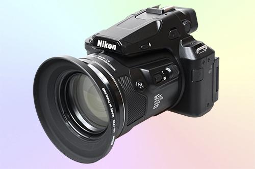 Фотоаппарат Nikon Coolpix P950 с суперзумом 83х