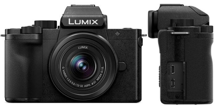 Lumix G100 - дизайн