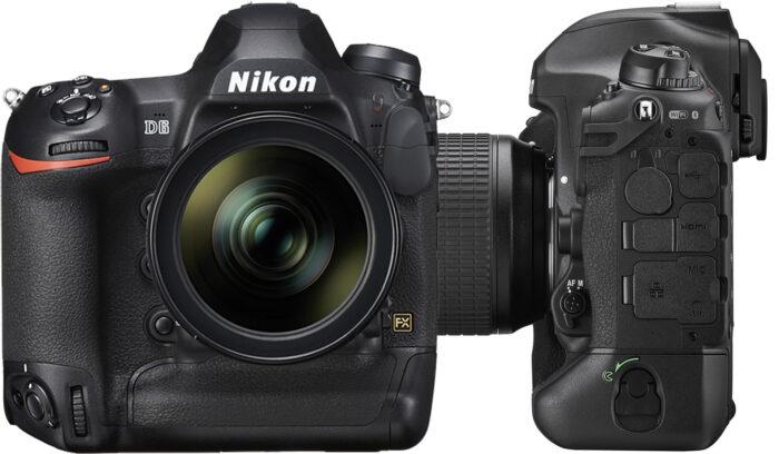 Nikon D6 - дизайн