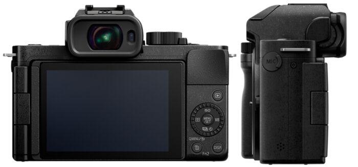 Lumix G100 - обзор