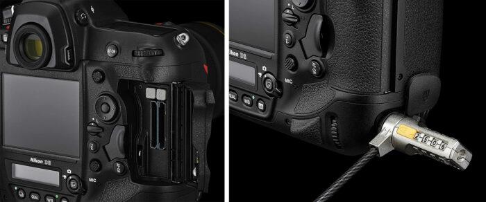 Nikon D6 - интерфейс