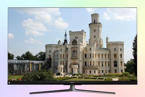 Hisense 55U8QF ULED 4K - флагманский телевизор 2020 года