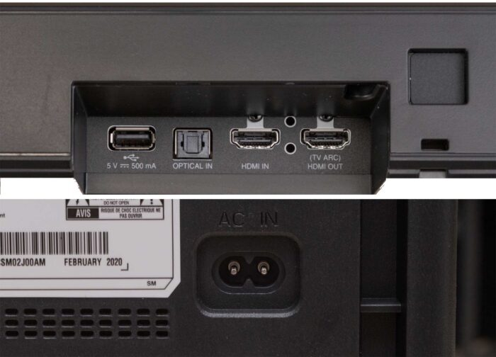 LG SN6Y интерфейсы