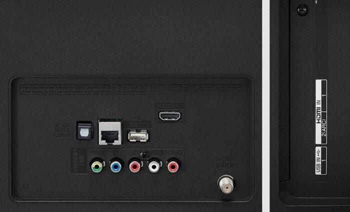 LG 43UN71006LB интерфейсы