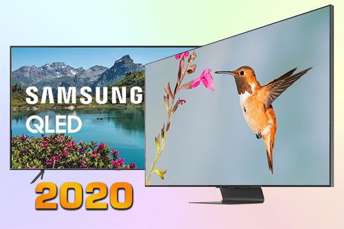 Сравнение QLED телевизоров Samsung 2020