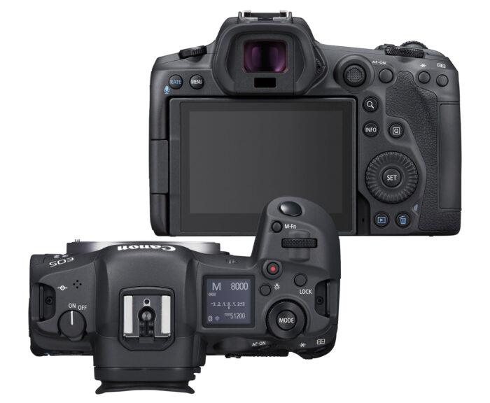 Canon EOS R5 - дизайн