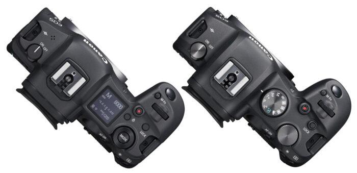 EOS R5 и EOS R6 - дизайн