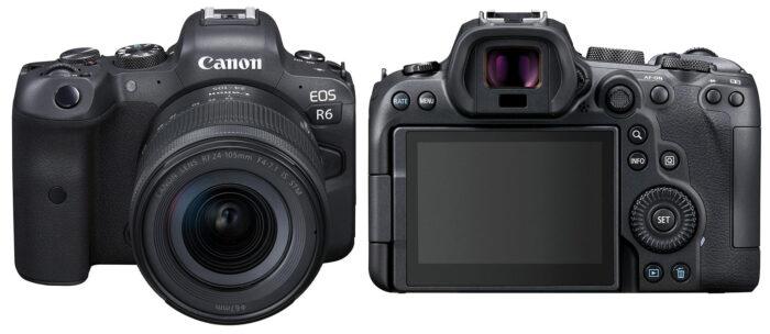 Canon EOS R6 - дизайн