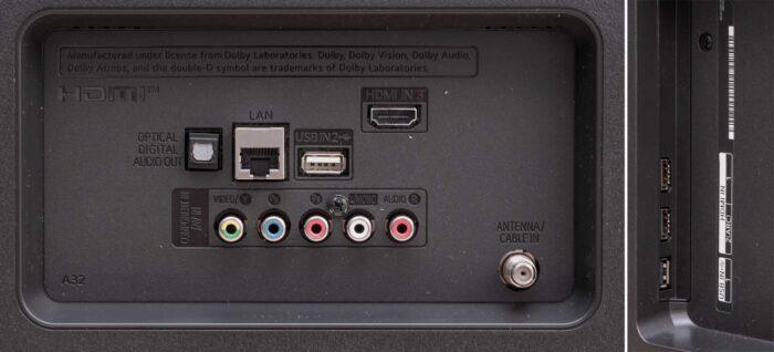 LG 55UN74006 интерфейсы