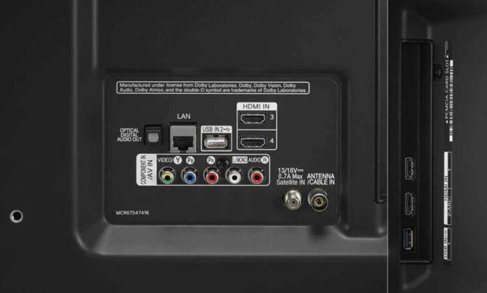 LG 55UN8000 интерфейсы