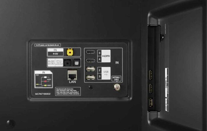 LG 75UN85006 интерфейсы