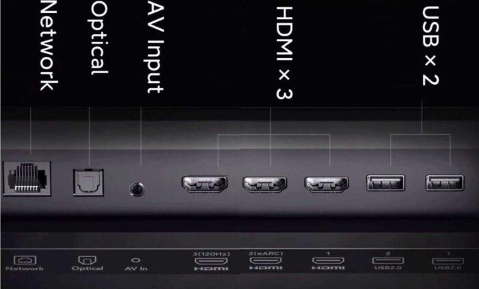 """Xiaomi Mi TV Lux 65"""" интерфейсы"""