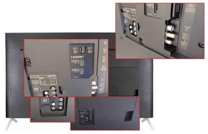 Panasonic HXR940 интерфейсы