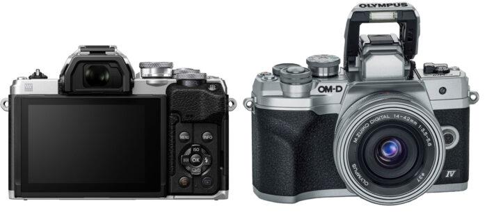 Olympus OM-D E-M10 Mark IV - дизайн