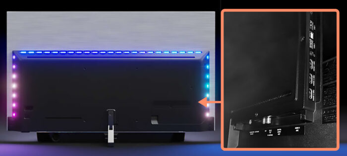 Philips OLED935 - интерфейс