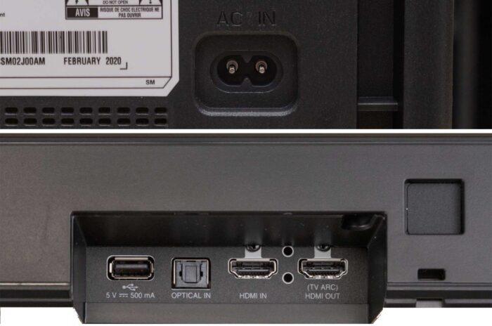 LG SN7Y интерфейсы