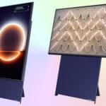Вертикальный телевизор Samsung The Sero QE43LS05TAU