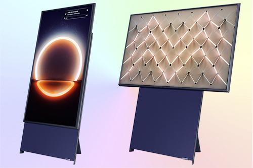 Samsung The Sero QE43LS05TAU вертикальный телевизор QLED 4К
