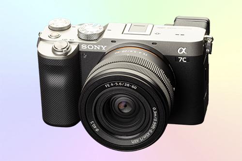 Sony ILCE-7C компактный полнокадровый беззеркальный фотоаппарат 4К