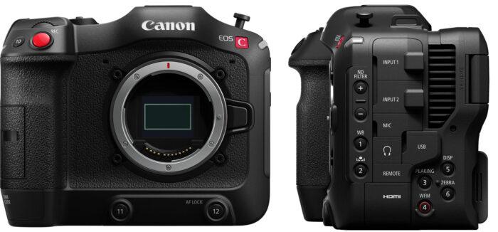 Canon EOS C70 - дизайн