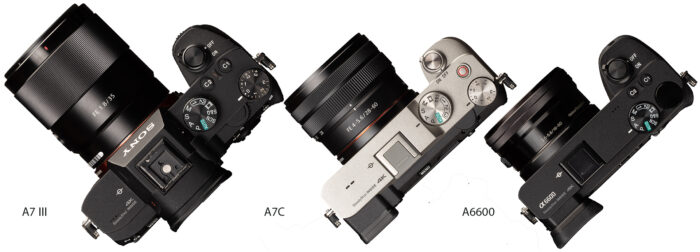 Sony A7C - дизайн