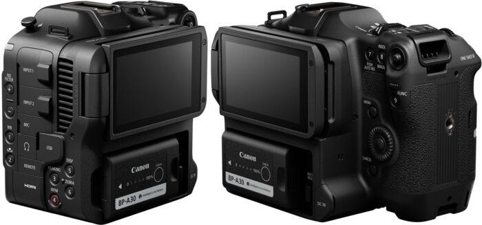 Canon EOS C70 - интерфейс