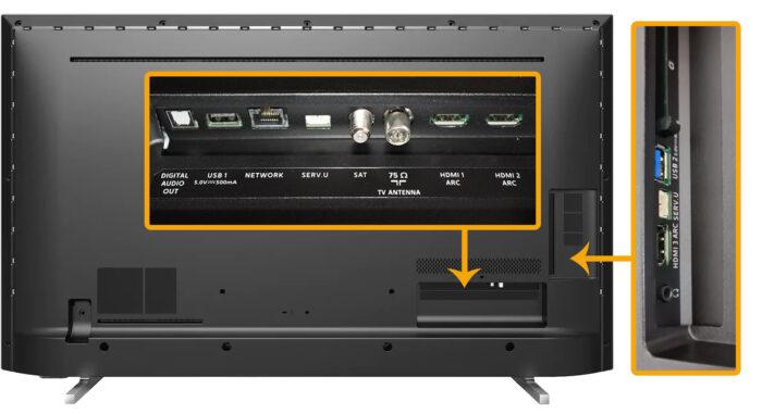 Philips PUS7805 - коммутация