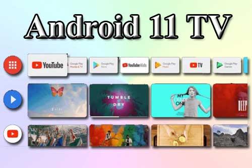 Android 11 TV. Что нового