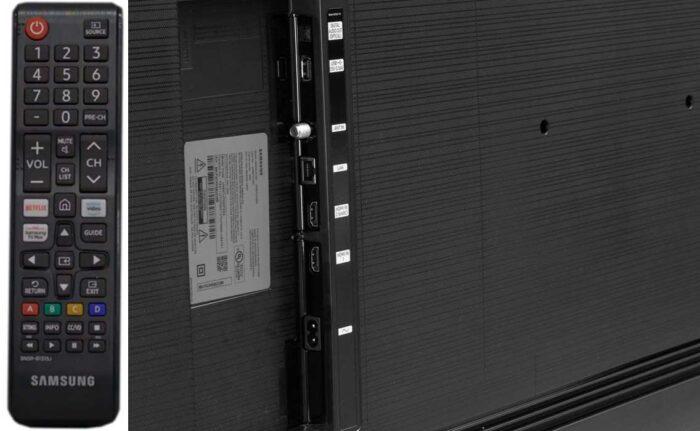 Samsung UE55TU7090U интерфейсы