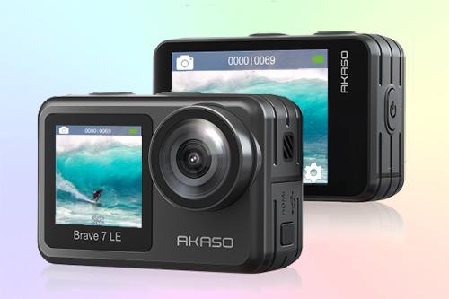 Akaso Brave 7 LE бюджетная экшн-камера 4К с двумя дисплеями