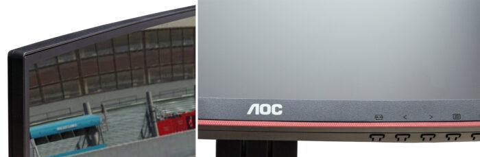 AOC CQ27G1 - дизайн