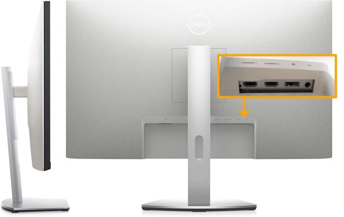 Dell S2721QS - коммутация