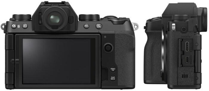 Fujifilm X-S10 - коммутация