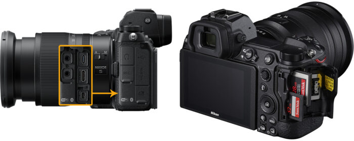Nikon Z6 II - коммутация