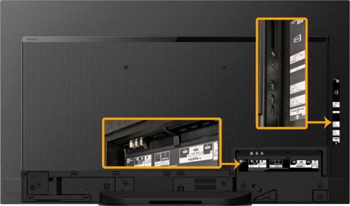 Sony KD-48A9 - коммутация