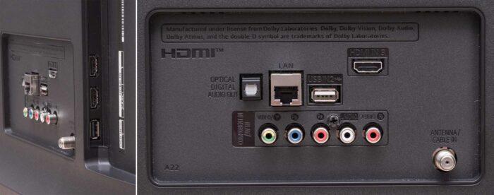 LG 55UN7000 интерфейсы