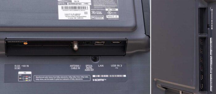 LG 75NANO976NA интерфейсы