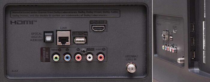 LG 75UN7070 интерфейсы