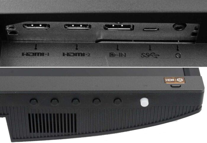 BenQ EW3270U интерфейсы
