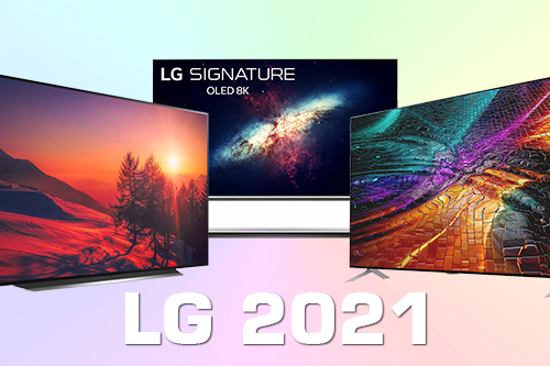 Модельный ряд телевизоров LG 2021 года