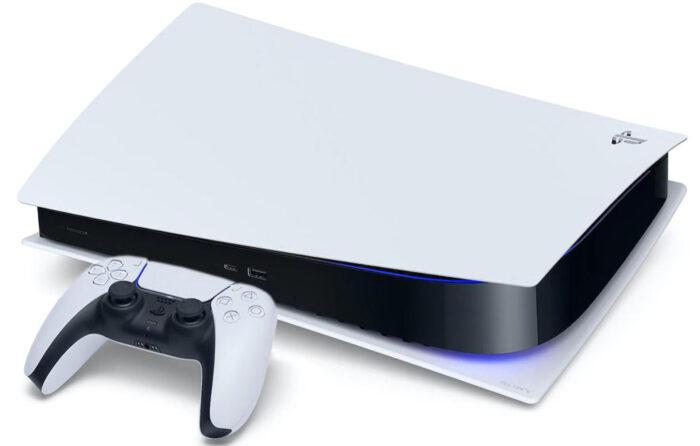 PlayStation 5 с приводом - дизайн