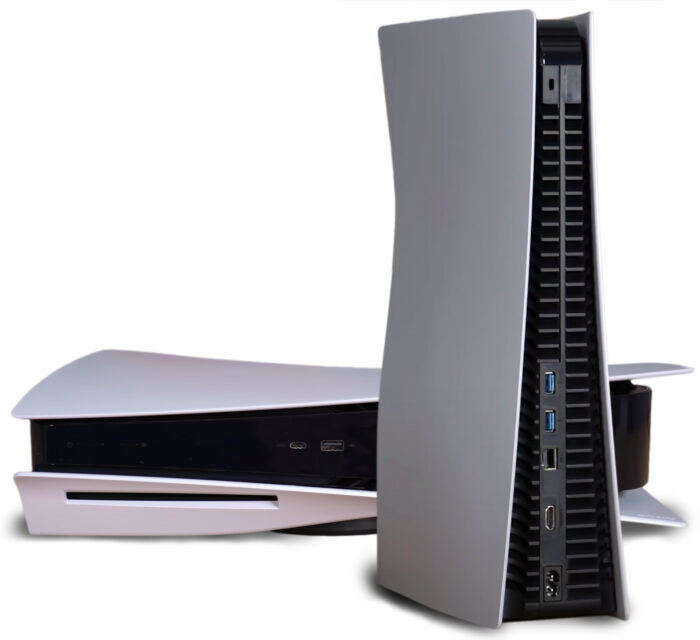 PlayStation 5 с приводом - коммутация