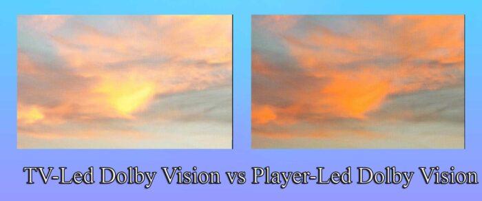 Dolby Vision сравнение TV-Led и Player-Led: что лучше?