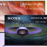 Модельный ряд телевизоров Sony 2021 года
