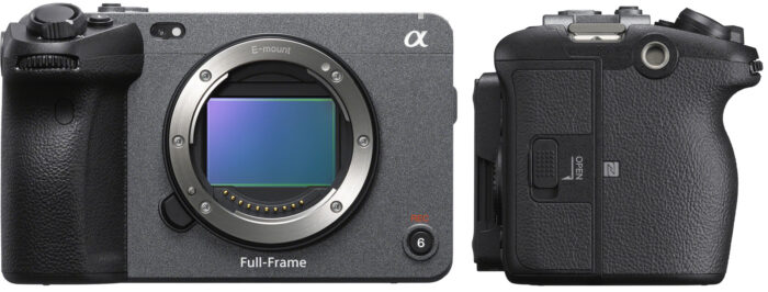 Sony FX3 - дизайн