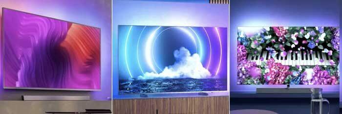 Модельный ряд Филипс ТВ 2021 года