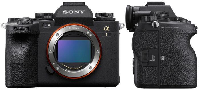 Sony Alpha 1 - дизайн