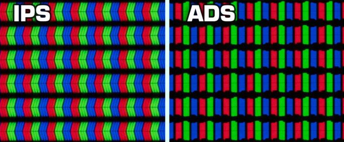 ADS vs IPS - структура